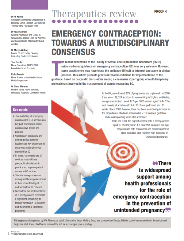 Contraception Publication